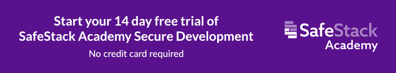 SafeStack Development Academy Free Trial CTA