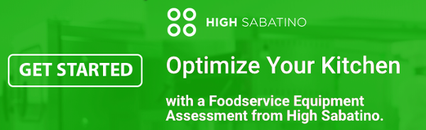 High Sabatino Foodservice Equipment Assessent