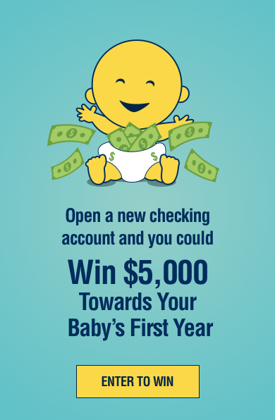 Open a new checking account and you could win $5000.