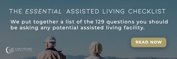 The Essential Assisted Living Checklist - We put together a list of the 129 questions you should be asking any potential assisted living facility.