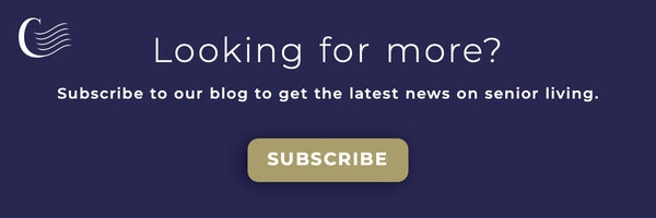 Looking for more? Subscribe to our blog to get the latest news on senior living