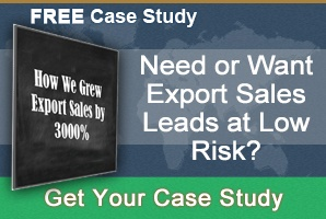 Need or want export sales CTA awareness stage