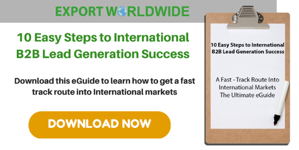 10 easy steps to international B2B lead success