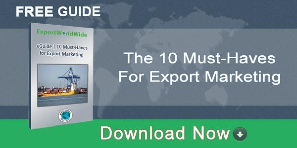 EWW 10 must haves for export marketing