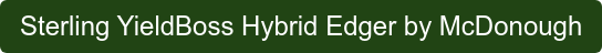 Sterling YieldBoss Hybrid Edger by McDonough