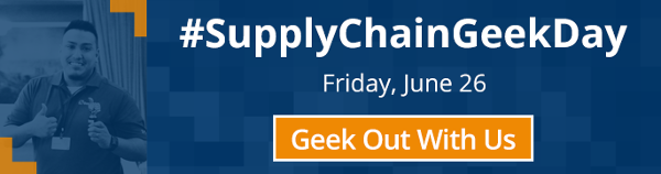 #SupplyChainGeekDay