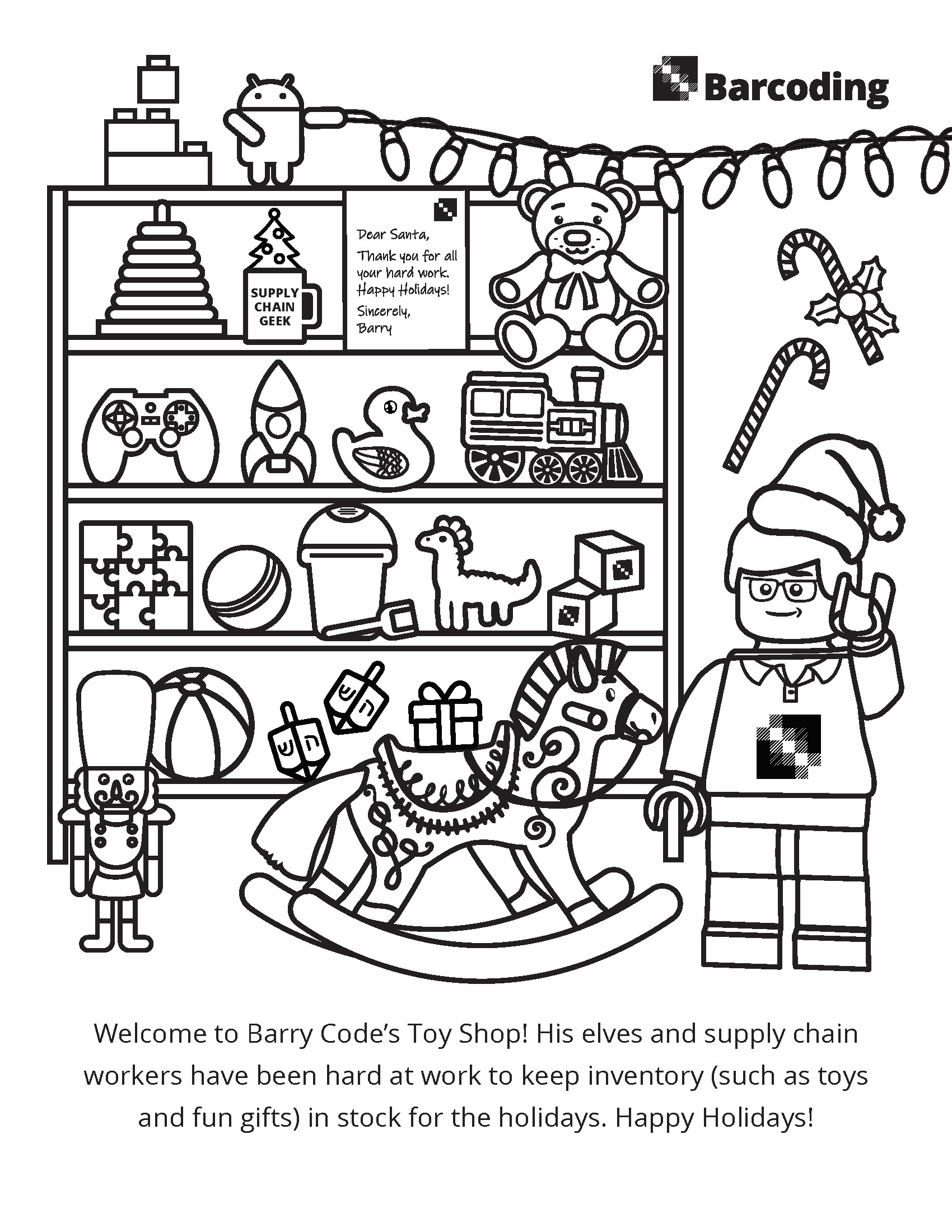 Barry Code's Toy Shop