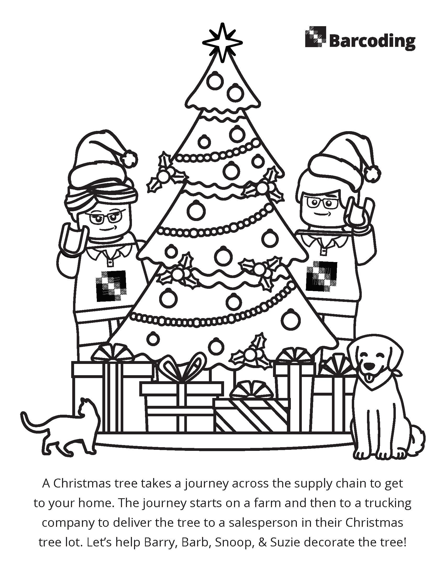 Christmas Tree Journey