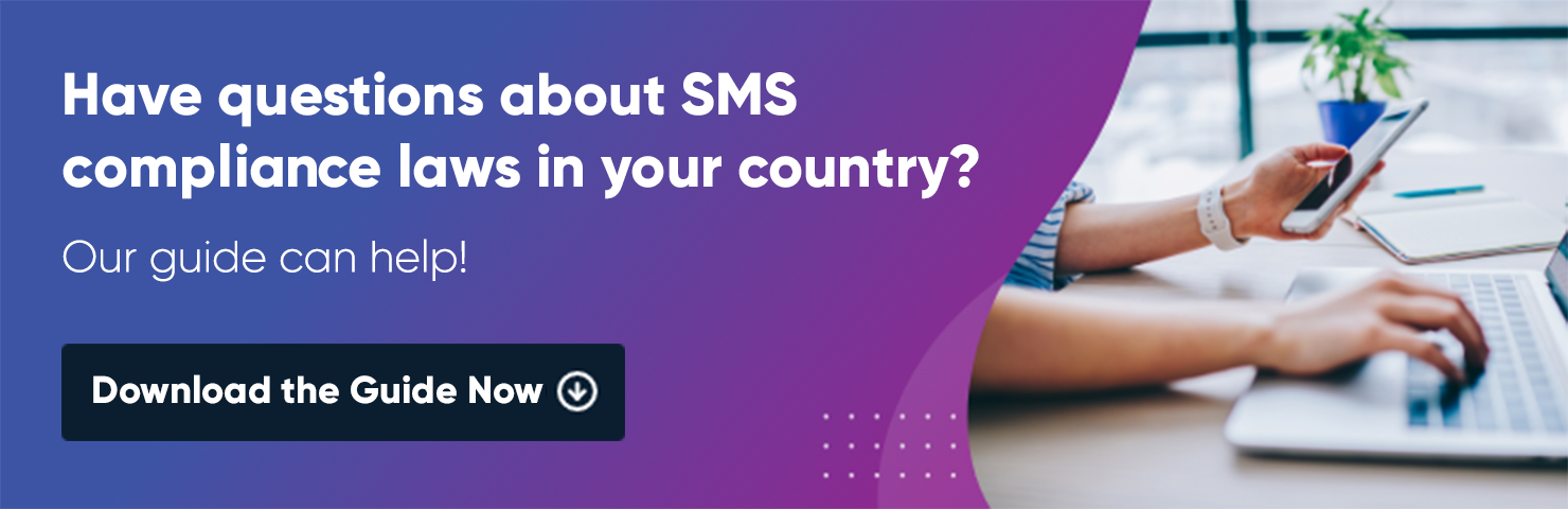 sms compliance guide CTA