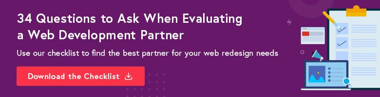 web developer partner cta