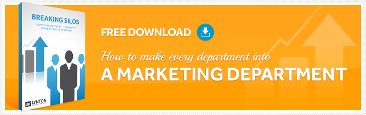 How to Turn Every Department Into A Marketing Department