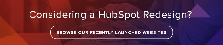 hubspot cos redesign