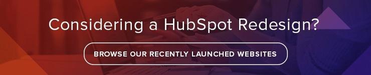 hubspot cos redesign