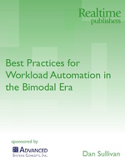Best Practices for Workload Automation in the Bimodal Era