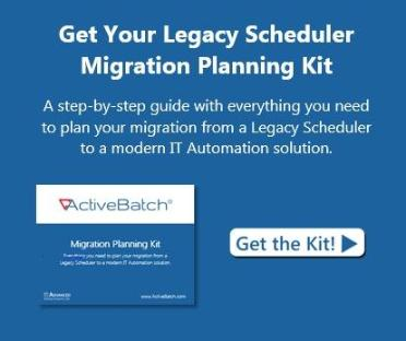 Get your legacy scheduler migration planning kit