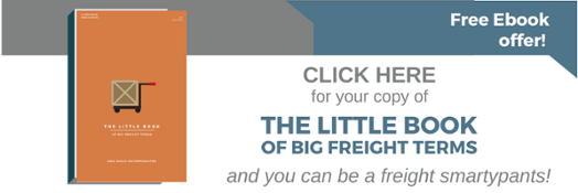 Little book of big freight terms