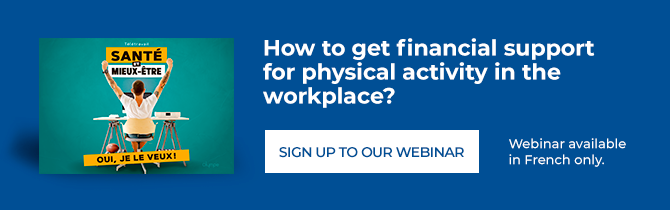 Webinar - How to get financial support for physical activity in the workplace?