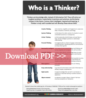 who is a thinker?