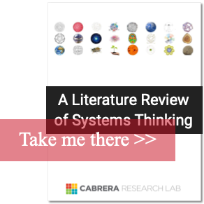 Systems Thinking Lit review