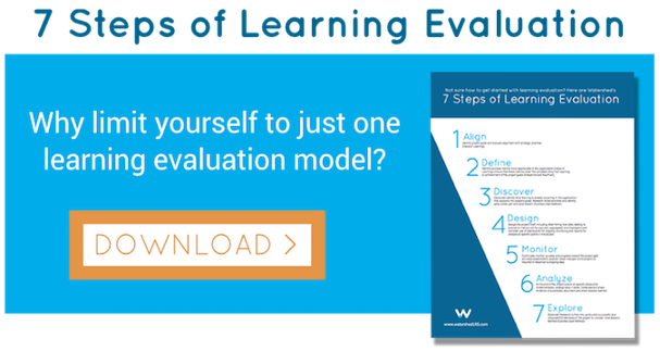 Watershed's 7 Steps of Learning Evaluation Guide