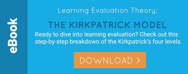 eBook: Kirkpatrick Learning Evaluation Model