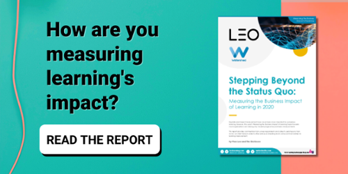Read the 2020 Measuring Business Impact of Learning Research Report