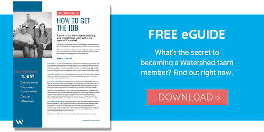 Watershed Careers