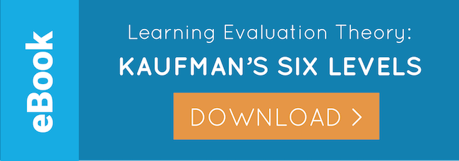 eBook: Kaufman's Learning Evaluation Model