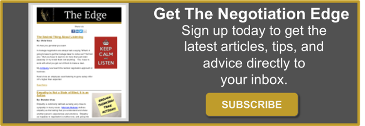 negotiation newsletter