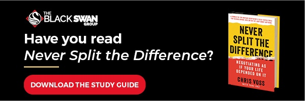 never split the difference study guide