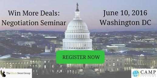 negotiation seminar on June 10