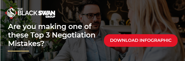 negotiation mistakes