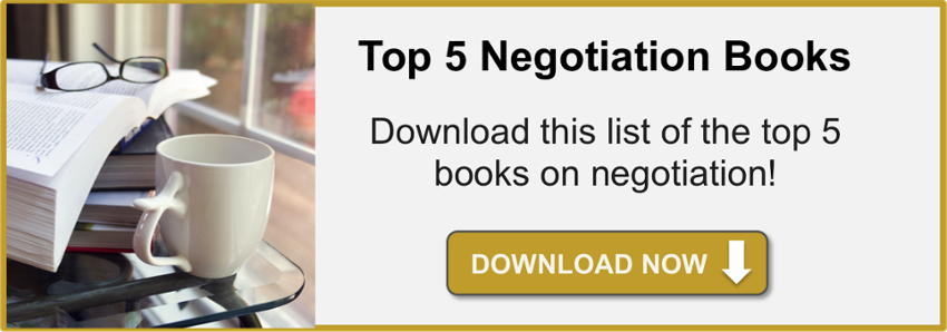 negotiation books