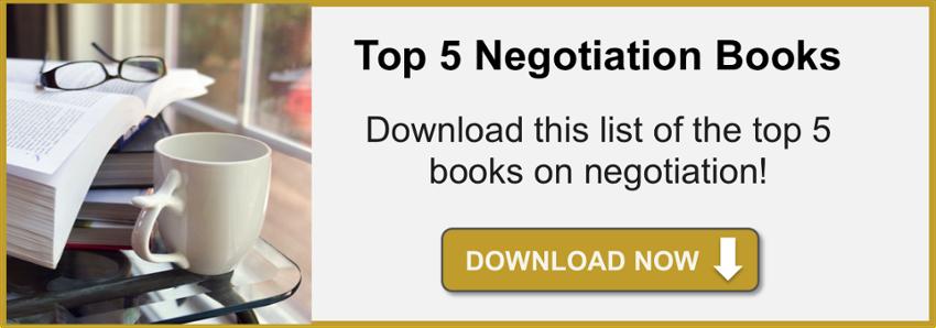 negotiation books