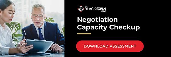 Negotiation Capacity Checkup