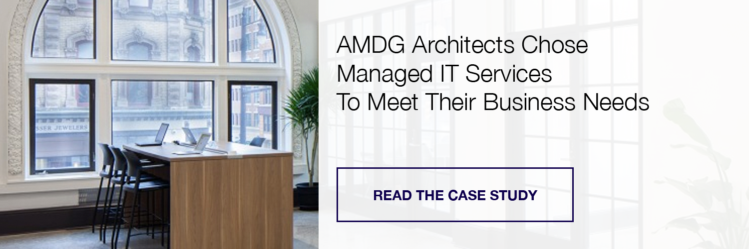 AMDG Architects Managed IT Services Case Study