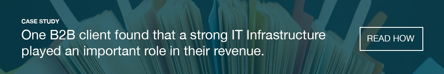 B2B Case Study for IT Infrastructure