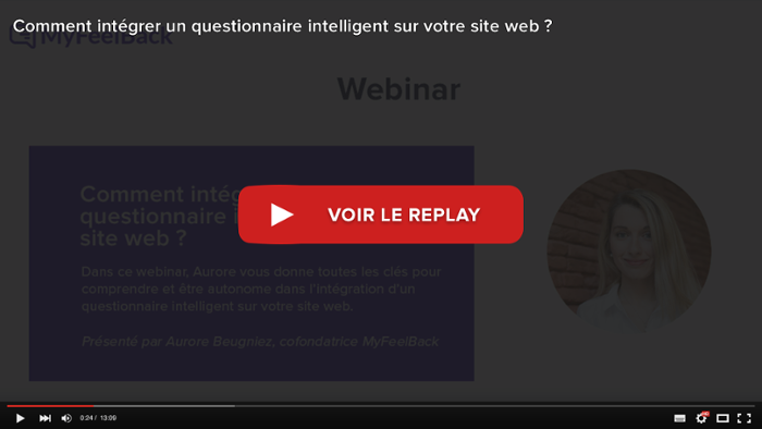 voir le replay du webinar comment intégrer un questionnaire intelligent sur son site web