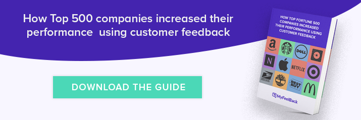 Download Ebook How Top Fortune 500 Companies Increased Their Performance Using Customer Feedback
