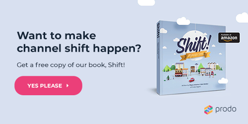 Get a free copy of our book, 'Shift! How to make channel shift happen in housing'
