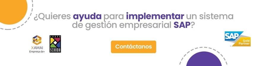 Ayuda para implementar un sistema de gestión SAP