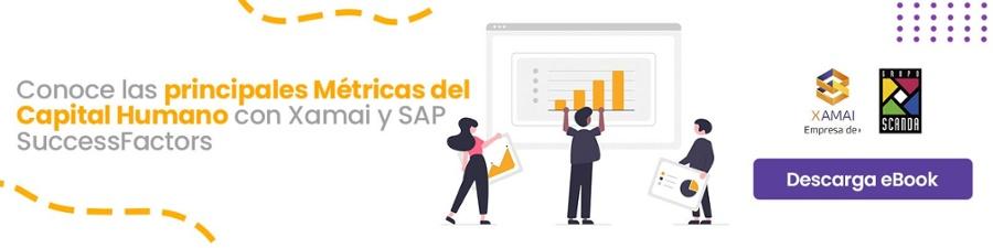Métricas del capital humano - SAP Success Factors- Xamai