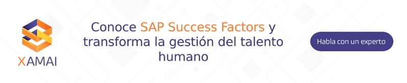 Conoce SAP Success Factors con Xamai