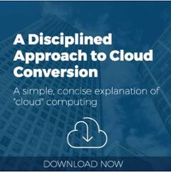 A Disciplined Approach to Cloud Computing