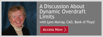 Watch the Dynamic Overdraft Limits Discussion