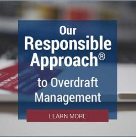 Our Responsible Approach to Overdraft Management