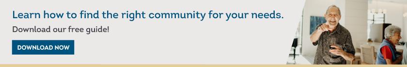 Safe & Comfortable Senior Living Community Guide