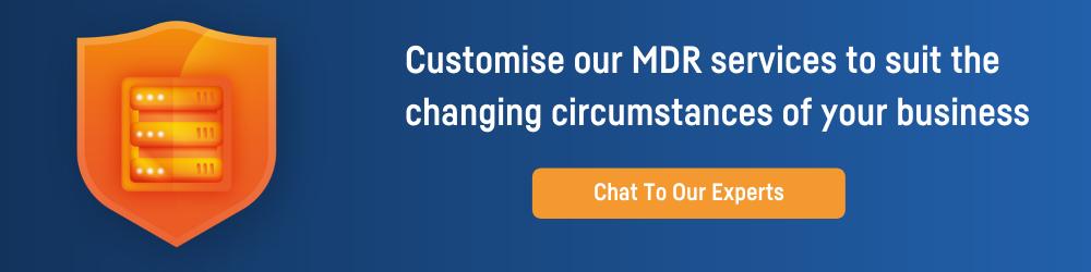 MDR Services CTA
