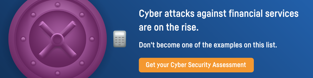 Financial Services Cyber Attacks