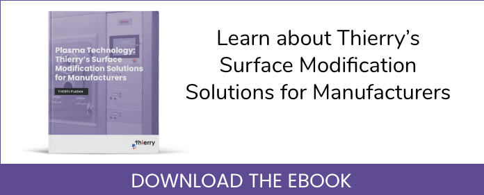 Thierry's surface modification solutions for manufacturers